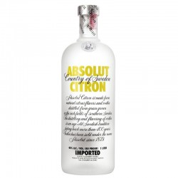 ABSOLUT CITRON LITRO